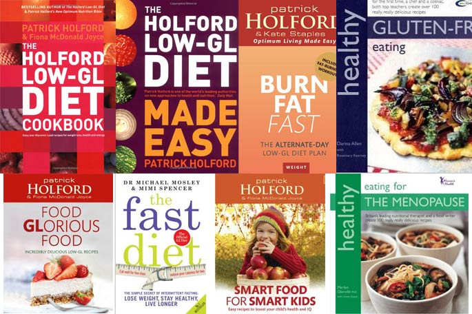 Recommended Nutrition Books