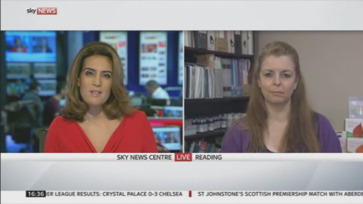 Laura on Sky News: Clean Eating